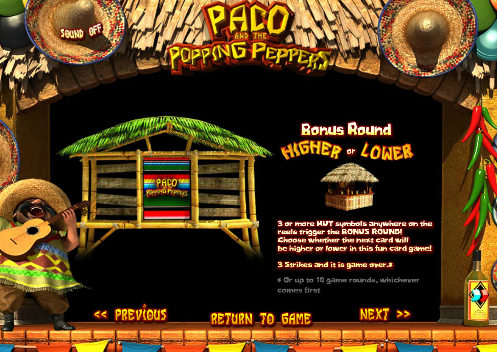 pace and the popping peppers casino